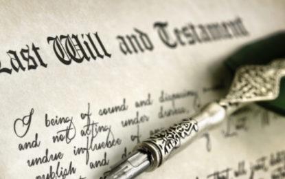 Partenaires de PACS : faut-il faire un testament ?