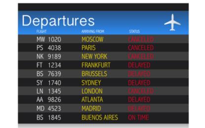 Ryanair : annulation de vols