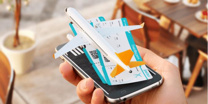 Réserver un vol sur une plateforme en ligne